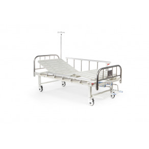 Кровать механическая 2-секционная с функцией удлинения ложа Медицинофф B-21(v)