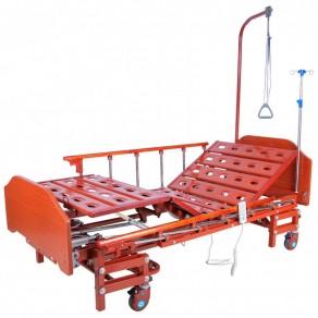 Кровать электрическая (3 функции) с ростоматом Мед-Мос Db-6 Mm-166н