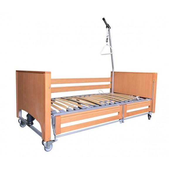 Ортопедическая кровать электрическая Vermeiren Luna с раздельными боковинами - фото №2