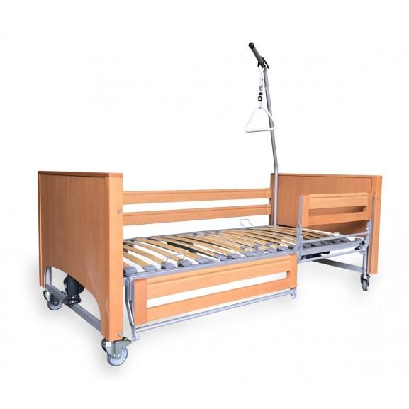 Ортопедическая кровать электрическая Vermeiren Luna с раздельными боковинами - фото №1