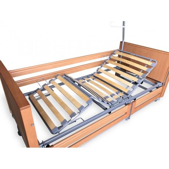 Ортопедическая кровать электрическая Vermeiren Luna с раздельными боковинами - фото №3