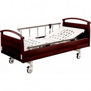Кровать электрическая с деревянными спинками Медицинофф Fa-4
