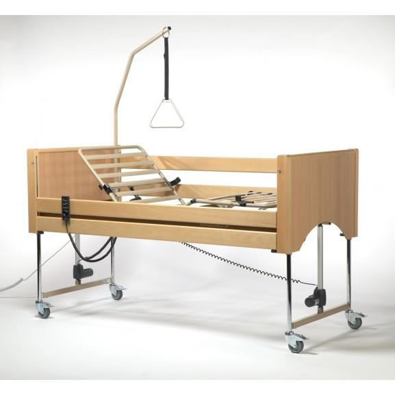 Кровать функциональная 4-х секционная электрическая (в комплекте с матрасом) Vermeiren Luna - фото №3