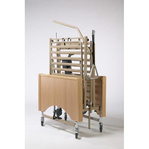 Кровать функциональная 4-х секционная электрическая (в комплекте с матрасом) Vermeiren Luna - фото №4