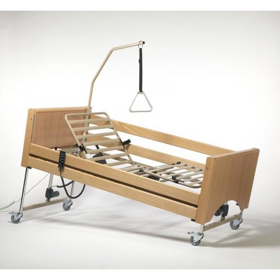 Кровать функциональная 4-х секционная электрическая (в комплекте с матрасом) Vermeiren Luna - фото №2