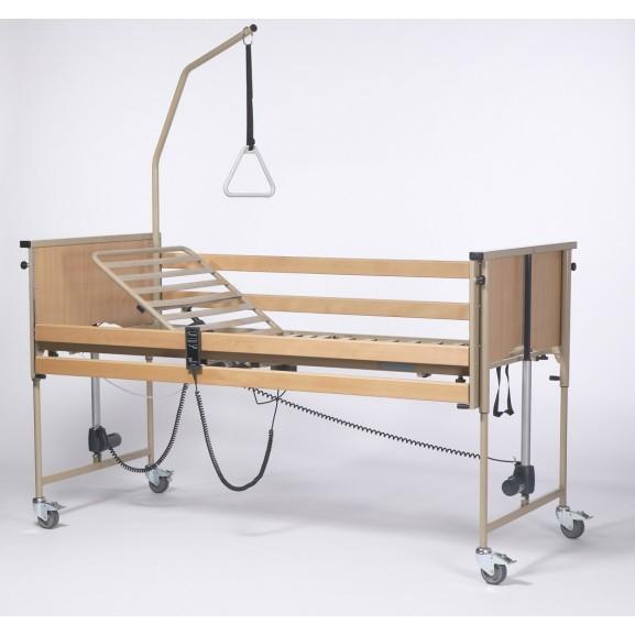 Кровать функциональная 4-х секционная электрическая (в комплекте с матрасом) Vermeiren LUNA Basic - фото №3