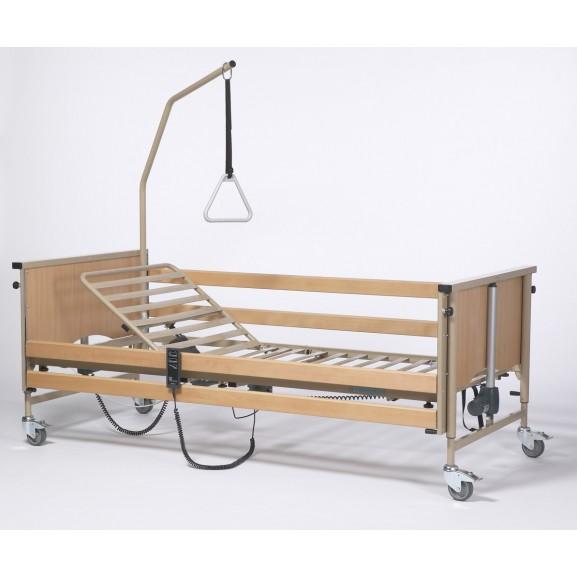 Кровать функциональная 4-х секционная электрическая (в комплекте с матрасом) Vermeiren LUNA Basic