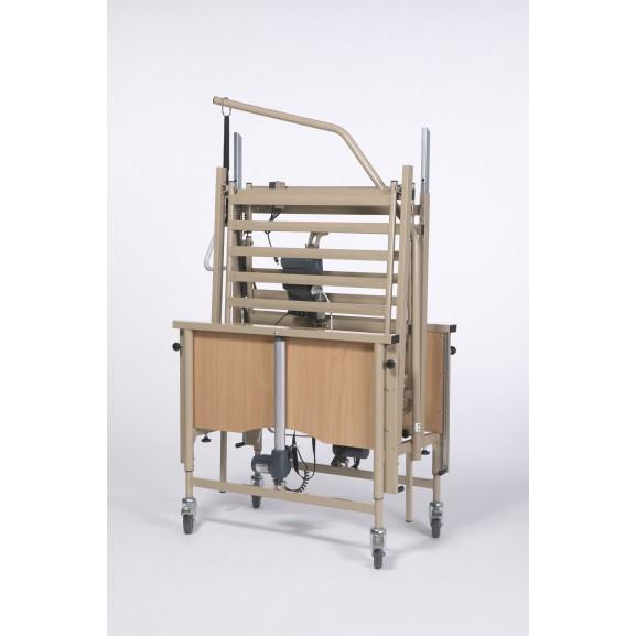 Кровать функциональная 4-х секционная электрическая (в комплекте с матрасом) Vermeiren LUNA Basic - фото №4