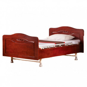 Кровать электрическая с деревянными спинками Медицинофф Fd-4