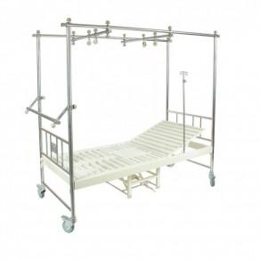 Медицинская кровать (2 функции), с туалетным устройством Мед-Мос F-24 Mm-44