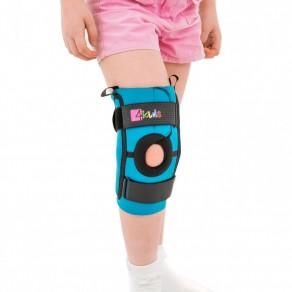 Ортез колена с боковыми шинами и надколенниковым кольцом Reh4Mat Fix-kd-12