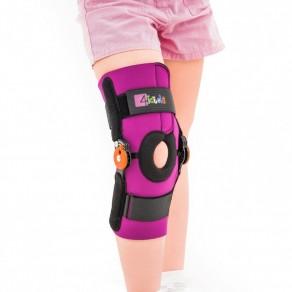 Ортез колена с регулировкой движения и надколенниковым кольцом Reh4Mat Fix-kd-09