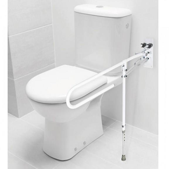 Откидной поручень для установки в туалетных комнатах Barry 12313 - фото №2