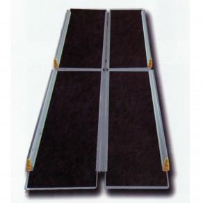 Пандус перекатной рампа складная 4-х секционная Мега-Оптим Mr 707t