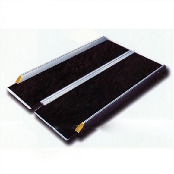 Пандус перекатной рампа складная 2-х секционная Мега-Оптим Mr 707