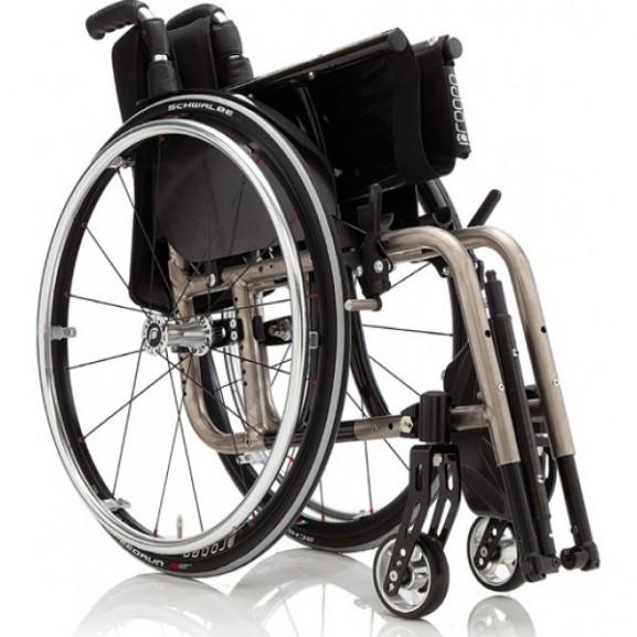 Кресло-коляска с ручным приводом активного типа Progeo Exelle - фото №1