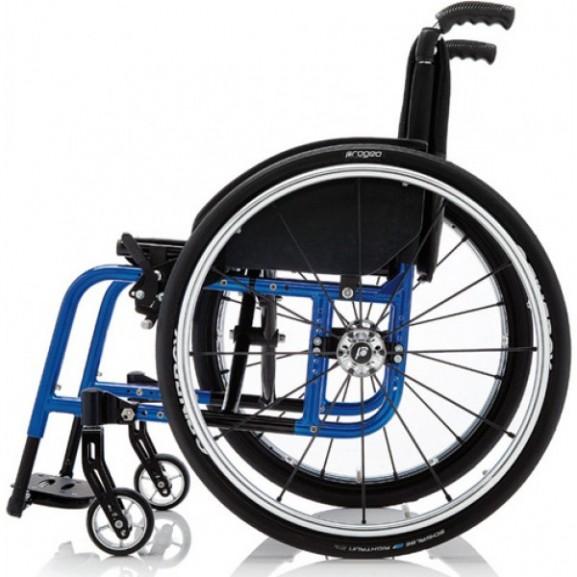 Кресло-коляска с ручным приводом активного типа Progeo Exelle - фото №2