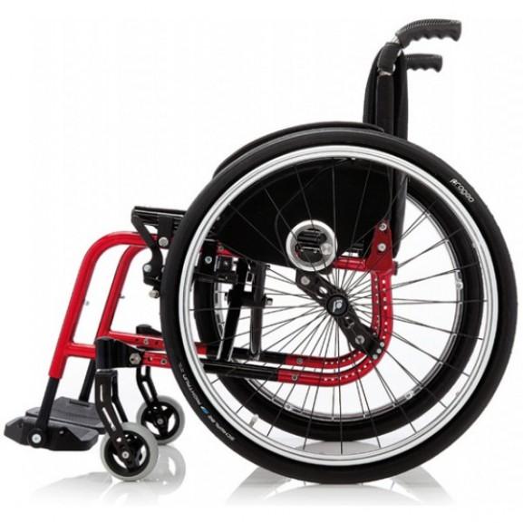 Кресло-коляска с ручным приводом активного типа Progeo Exelle - фото №4