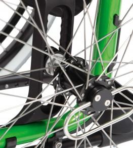 Адаптер приводного колеса обеспечивает 84 положения колеса