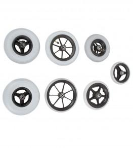 Различные варианты передних колес
