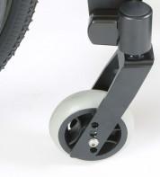 Настройки вилки переднего колеса изменяют высоту сиденья спереди