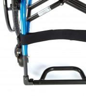 Передняя часть рамы без сужения увеличивает пространство для ног