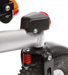 Механический ограничитель поворота передних колес