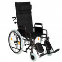 Кресло-коляска инвалидная механическая с высокой спинкой Мега-Оптим 514 А