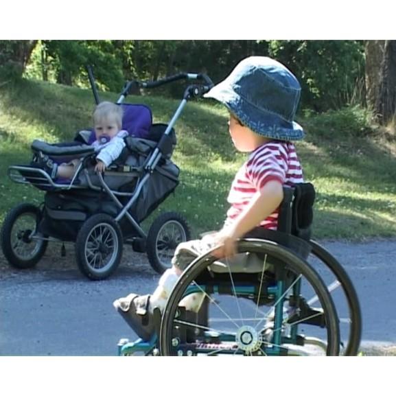 Кресло-коляска для детей Panthera Micro - фото №2