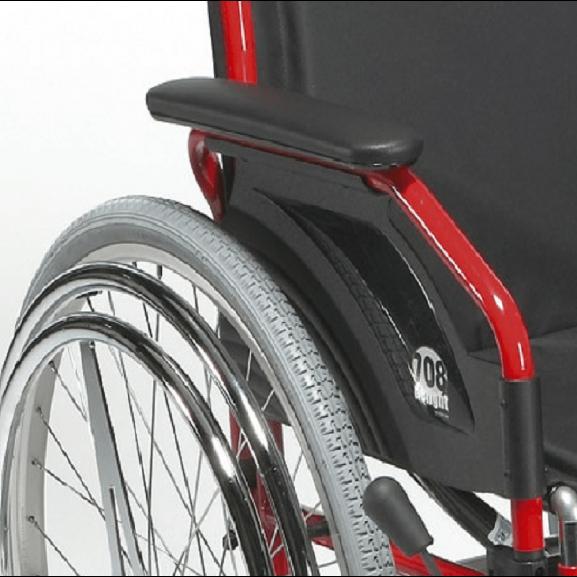 Кресло-коляска инвалидное механическое Vermeiren 708d Hem2 - фото №6