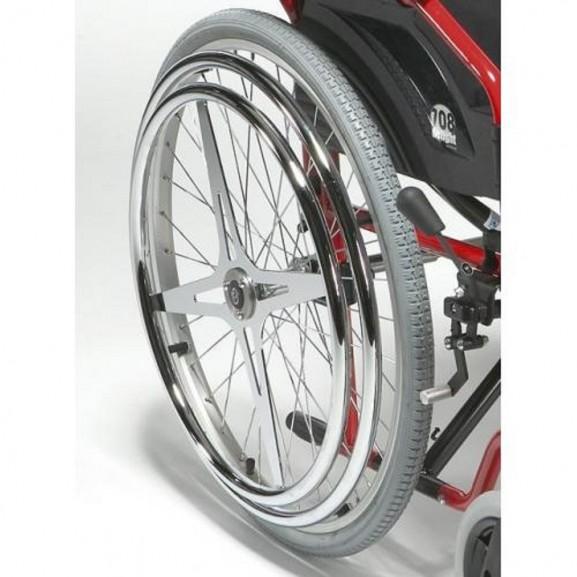 Кресло-коляска инвалидное механическое Vermeiren 708d Hem2 - фото №8
