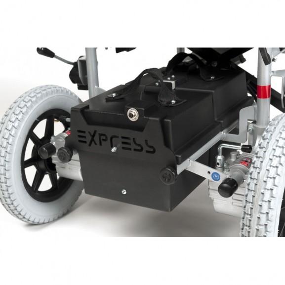 Кресло-коляска инвалидное с электроприводом Vermeiren Express 2009 - фото №3