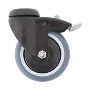 Колесо стальное (125мм) для вертикализатора Akcesmed Парамобиль Pml_019