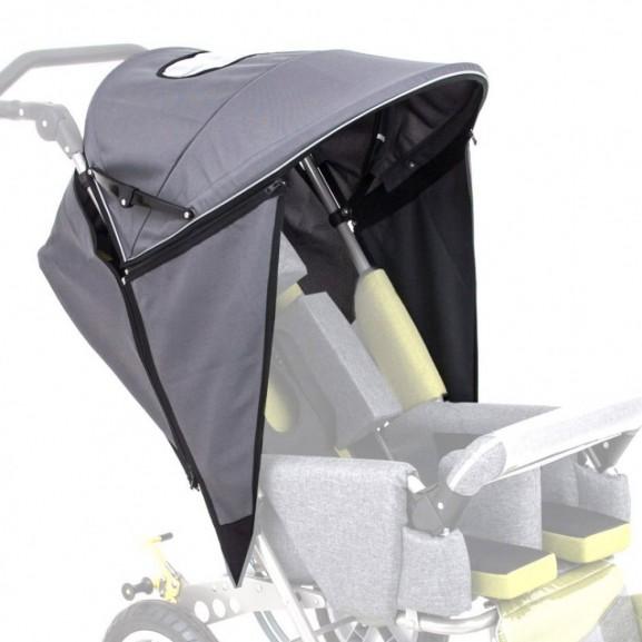 Складной навес с боковыми заслонками для колясок Akcesmed Рейсер Rcr_420