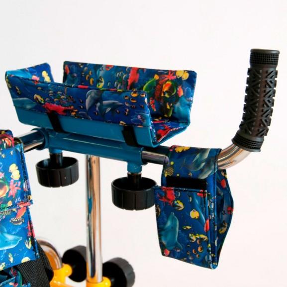 Опоры-ходунки ортопедические для детей больных ДЦП Мега-Оптим FS 966 Lh - фото №2
