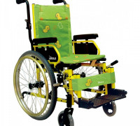 Регулируемые по  высоте подлокотники  и передние колеса
