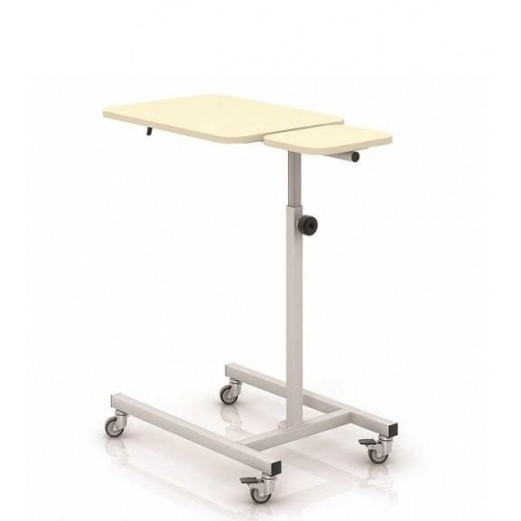 Стол прикроватный с 2-мя столешницами из HPL-пластика Конмет Холдинг Сн-24.02