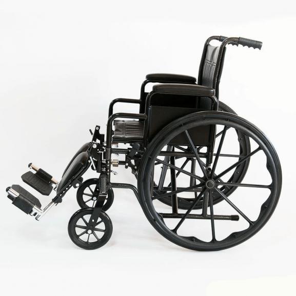 Кресло-коляска инвалидная Мега-Оптим 511b - фото №3