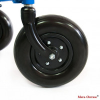 Самоориентирующиеся полиуретановые передние колеса