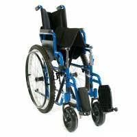 Кресло-коляска складывается и раскладывается без инструмента