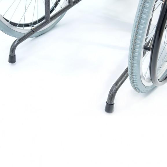 Кресло-коляска инвалидная механическая с высокой спинкой Мега-Оптим 514 А - фото №1