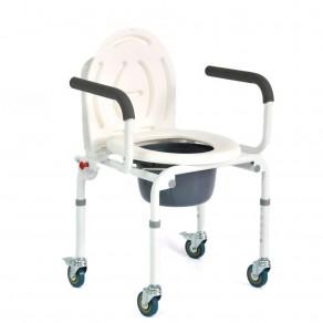 Санитарное приспособление для туалета Мега-Оптим Fs 813 (на 4-х колесах)