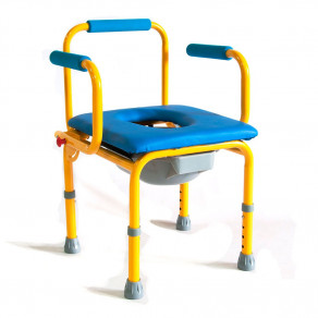 Стул-кресло с санитарным оснащением Мега-Оптим Fs 813 (размер S)