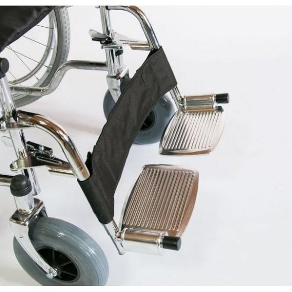 Инвалидное кресло-коляска стальная Мега-Оптим Fs 902c - фото №3