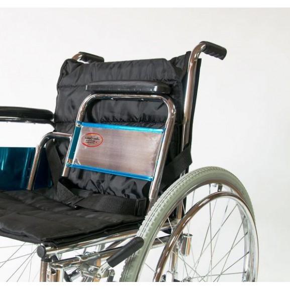 Инвалидное кресло-коляска стальная Мега-Оптим Fs 902c - фото №12