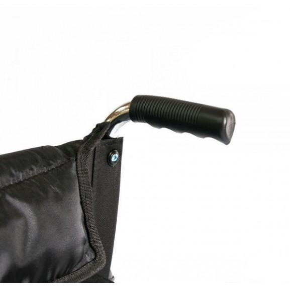 Инвалидное кресло-коляска стальная Мега-Оптим Fs 902c - фото №8