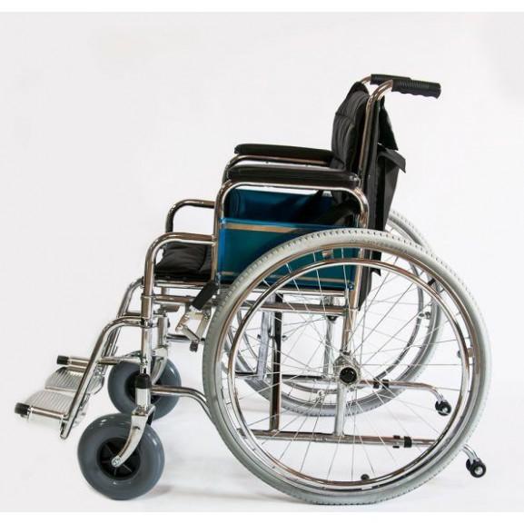 Инвалидное кресло-коляска стальная Мега-Оптим Fs 902c - фото №1