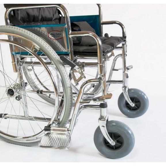 Инвалидное кресло-коляска стальная Мега-Оптим Fs 902c - фото №4