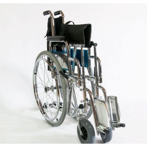 Инвалидное кресло-коляска стальная Мега-Оптим Fs 902c - фото №11
