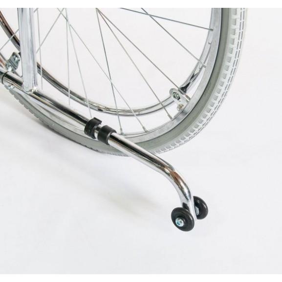 Инвалидное кресло-коляска стальная Мега-Оптим Fs 902c - фото №7